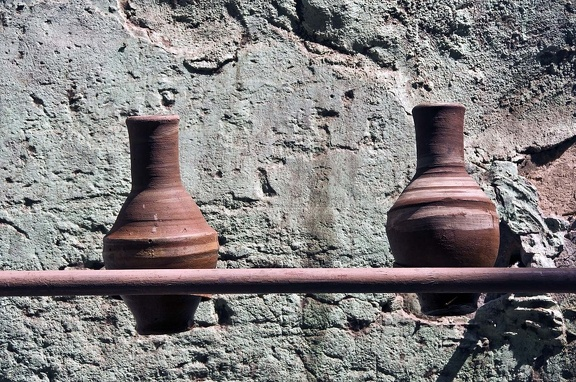 Earthenware water jugs