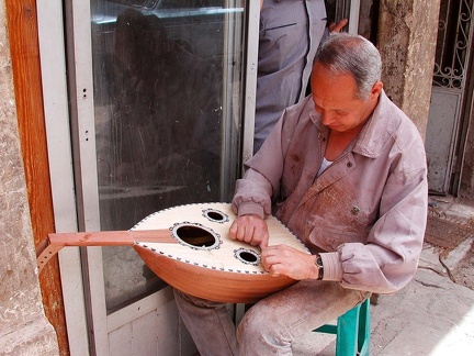 Luthier. Mohamed Aly Street, Cairo