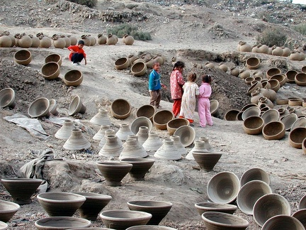 The village of potters at Nazla (Fayoum)