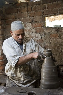 Pottery workshop near Alexandria