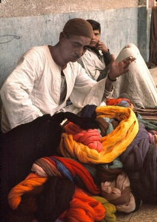 Weaving workshop at the Wissa Wassef Arts Centre in Haraneya (Cairo)
