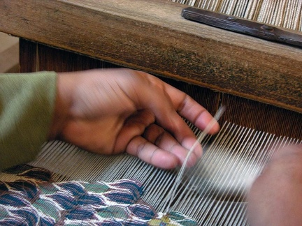 Weaving workshop, Cairo