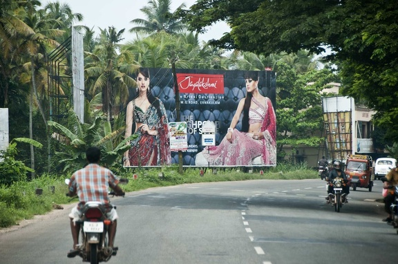 Advertising. Kerala (India)