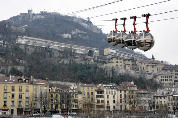 Bastille cable car
