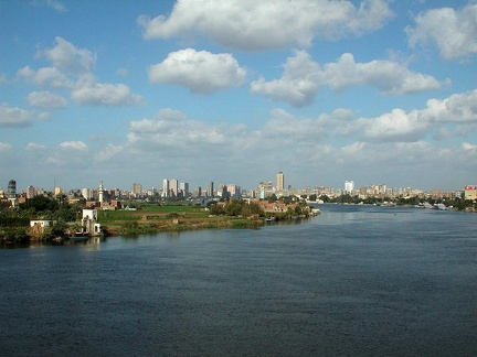 The Nile from el-Monib Bridge