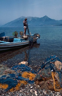 Fisherman near Lattakia